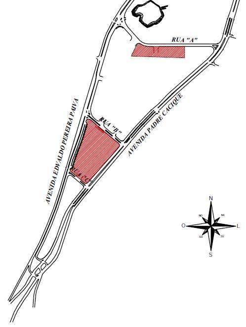 Áreas serão transformadas em estacionamentos – Imagem: Reprodução / Prefeitura de Porto Alegre