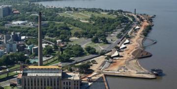 Revitalização do primeiro trecho da orla do Guaíba atinge 78% de conclusão